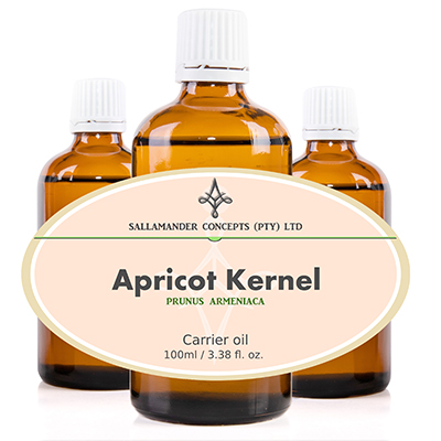 Apricot Kernel Oil is a fine textured carrier oil, easily absorbed by the skin without leaving it feeling oily and is high in poly-unsaturated fatty acids, that is specifically beneficial when doing facial massage.