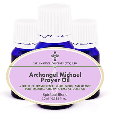 Archangel Michael Prayer Oil