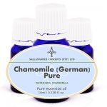 Chamomile German Pure Essential Oil has a calming effect on the mind and body and is excellent in treating any type of inflammation.