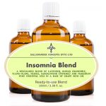 Insomnia Blend - A special blend of Grape seed oil with Lavender, Roman Camomile, Ylang-Ylang Neroli, Sandalwood and Marjoram essential oils.