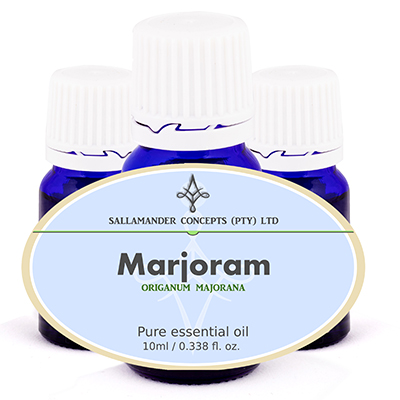 Marjoram Essential Oil has a warming action and calms emotions, relieves anxiety as well as stress and helps to calms hyperactive people.