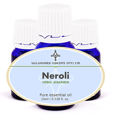 Neroli Essential Oil is very relaxing and can relieve chronic anxiety, depression, fear, shock and stress, intestinal spasms, diarrhea.