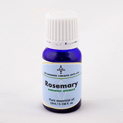Rosemary Essential Oil has a pronounced action on the brain and the central nervous system and is wonderful for clearing the mind and mental awareness.