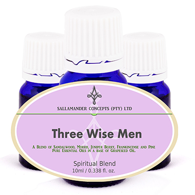 Three Wise Men Spiritual Oil Blend - blended to mimic the ancient blend, promoting spiritual awareness, balancing of qi, and helping to treat trauma