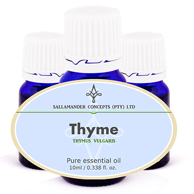 Thyme oil is beneficial to boost the immune system and can help fight colds, flu, infectious diseases and chills and is helpful for cystitis and urethritis.