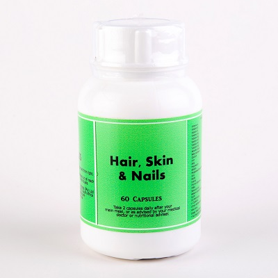 Hair Skin Nail Capsules formula was specially designed to assist the hair skin and nails but is in fact a superb multi-vitamin as well.