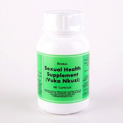 Herbal Sexual Supplement (previously Vuka Nkuzi) will help any man reach his full potential and is a mix of a selection of herbs to help improve a man's sex life.