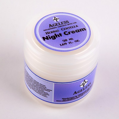 Nourishing night face cream contains pure, natural herbal extracts, oils and an eco-friendly certified preservative to nourish and revitalise the skin.