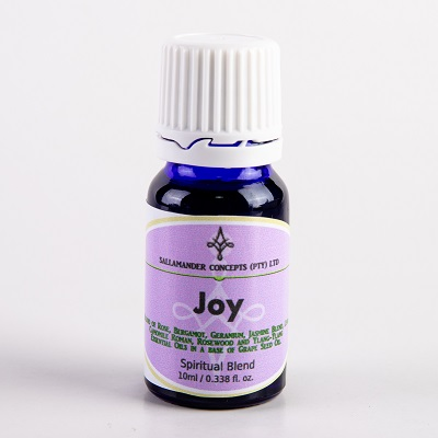 Joy Spiritual Oil - blended to promote feelings of friendship, love, harmony, joie de vivre, and revitalising bonhomie.